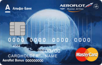 Логотип Кредитная карта Аэрофлот Альфа-Банка