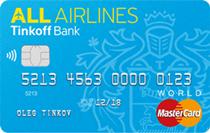 Логотип Тинькофф Кредитная карта All Airlines