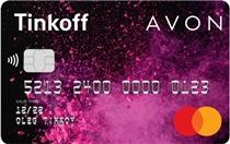 Логотип Тинькофф Кредитная карта Avon